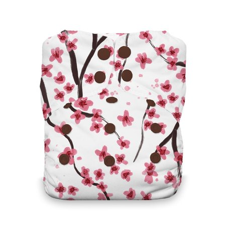 Thirsties Snap Natural One Size All In One Sakura