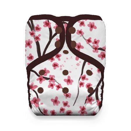 Thirsties Snap Natural One Size Pocket Diaper Sakura