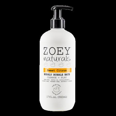Zoey Naturals Sweet Citrus Bubbly Bubble Bath