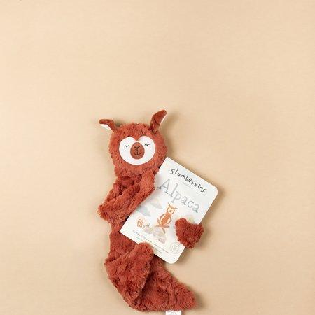 Slumberkins Alpaca Snuggler: Copper