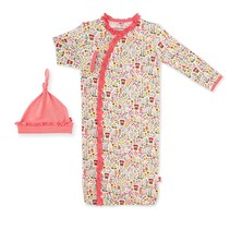 Gnome Sweet Gnome Modal Magnetic Gown & Hat Set (0-3m)