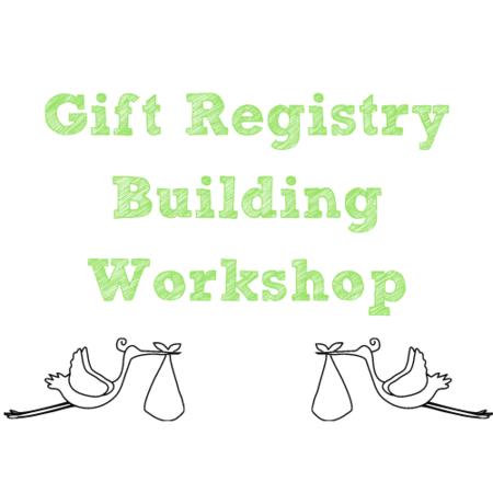 Gift Registry Building Workshop