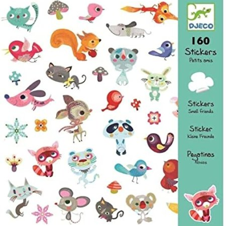 Djeco Little Friends Stickers