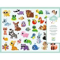 Baby Animals Big Stickers