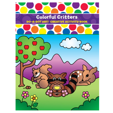 Do-a-Dot Do-a-Dot Colorful Critters Book