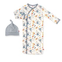 Astro Pups Modal Magnetic Gown & Hat Set (0-3m)