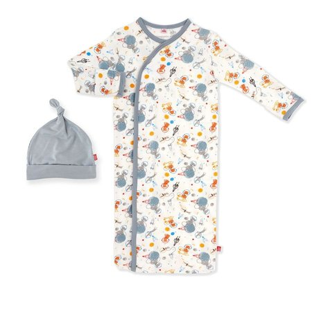 Magnetic Me Astro Pups Modal Magnetic Gown & Hat Set (0-3m)