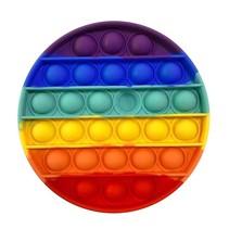 OMG Pop Fidgety- Round Rainbow