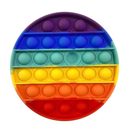 Top Trenz OMG Pop Fidgety- Round Rainbow