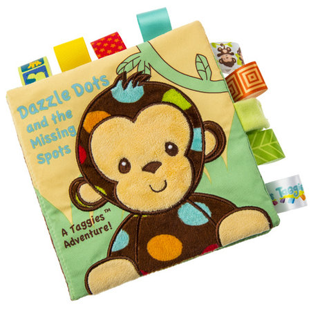 Mary Meyer Taggies Dazzle Dots Monkey Soft Book