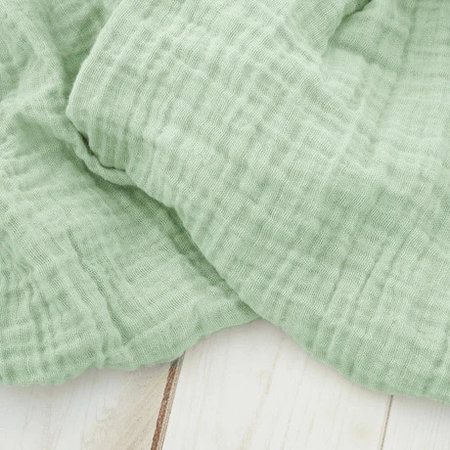 Sugar + Maple Muslin Swaddle Blanket