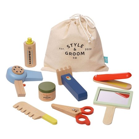 The Manhattan Toy Co Style & Groom Wooden Set