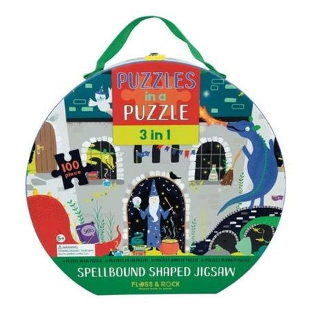 Floss & Rock Spellbound 3 in 1 Puzzle