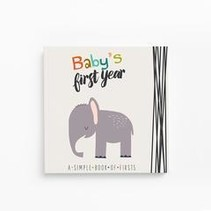 Baby's First Year Memory Book Little Animal Lover