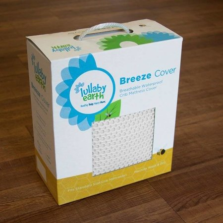 Lullaby Earth Breeze Breathable Washable Mattress Pad