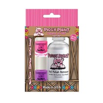 Piggy Paint Gift Set (2 Polish & Remover)