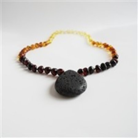 The Amber Monkey Aroma Diffusing Necklace