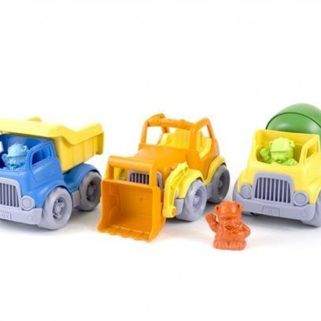Green Toys Green Toys Construction Truck 3-Pack