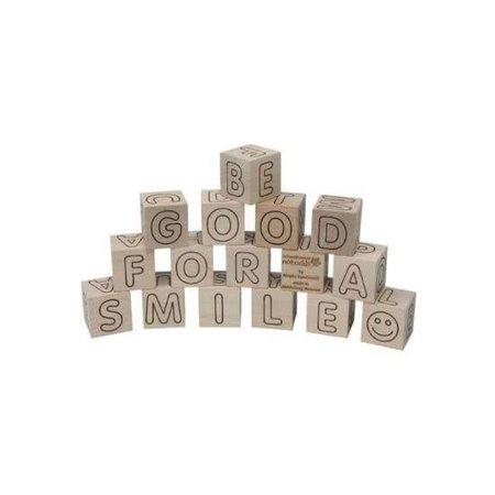 Maple Landmark ABC Simple Blocks