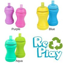 RePlay Spill Proof Soft Spout Sippy Cup (2 Pack)