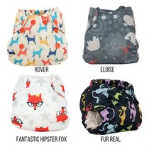 Born Smart- Newborn Cloth Diaper