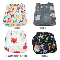 Born Smart- Newborn Cloth Diaper