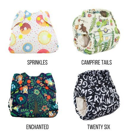 Smart Bottoms Born Smart- Newborn Cloth Diaper