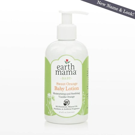 Earth Mama Organics Sweet Orange Baby Lotion