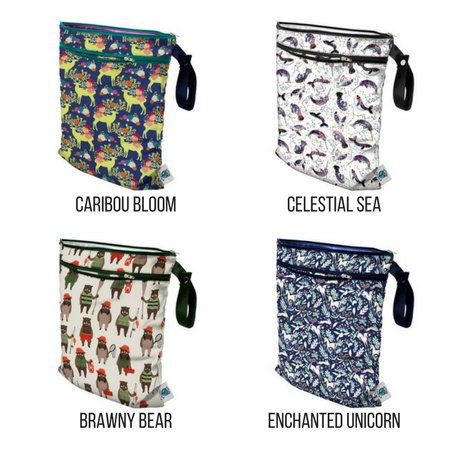 Planet Wise Medium Wet Dry Bag Mother Earth