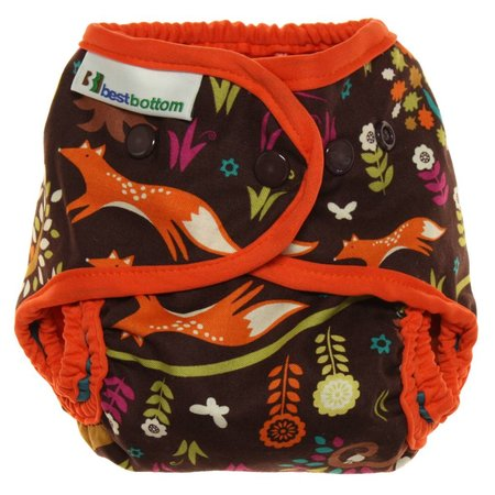 Best Bottom Diapers Best Bottom Cotton Diaper Cover (Snap)