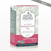 100% Organic Red Raspberry Leaf Tea