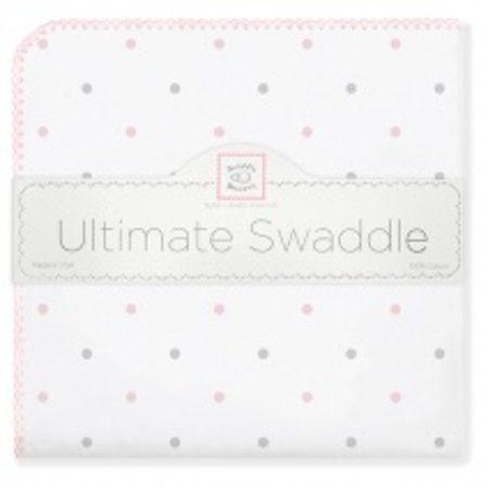 Swaddle Designs Ultimate Swaddle Blanket Little Dots