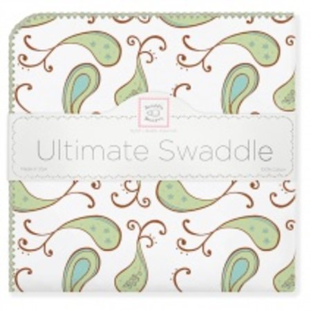 Swaddle Designs Ultimate Swaddle Blanket Triplets Paisley