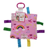 "Baby Jack & Co Baby Jack Crinkle Tag Lovey 8"" x 8"""