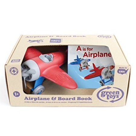 Green Toys Airplane & Board Book by Green Toys