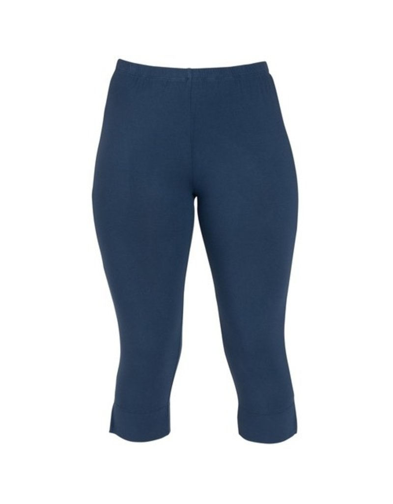 Capri Leggings - Denim - Small
