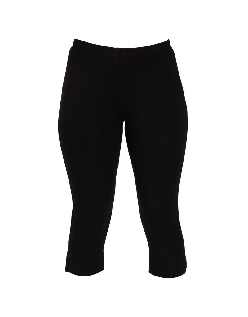 Capri Leggings - Black - LG