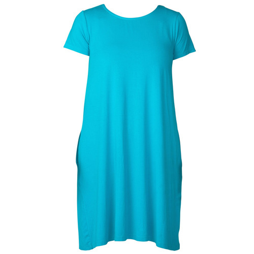 Cap Sleeve Swing Dress - Capri Breeze XS
