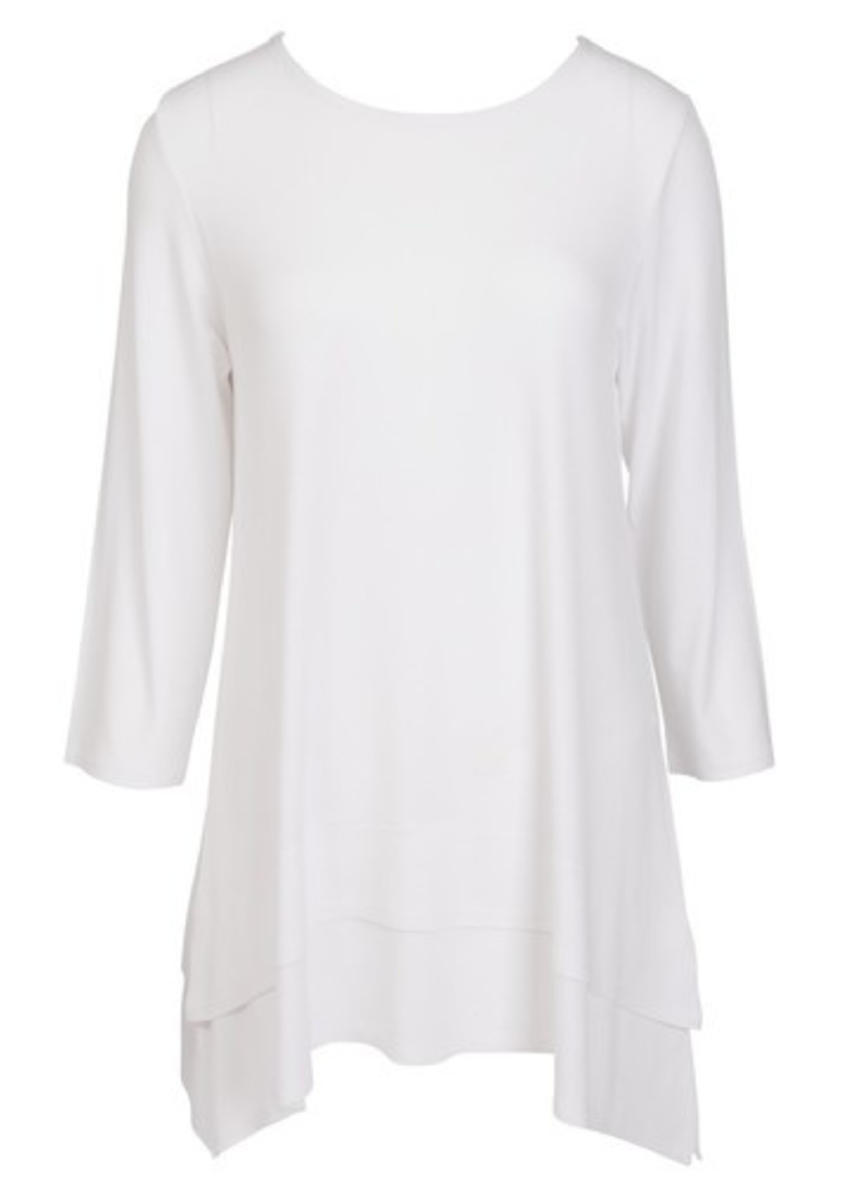 Double Layer Tunic - White - SM/Med
