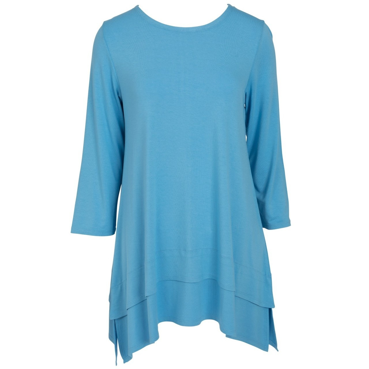 Double Layer Tunic - Azure Blue - XXL