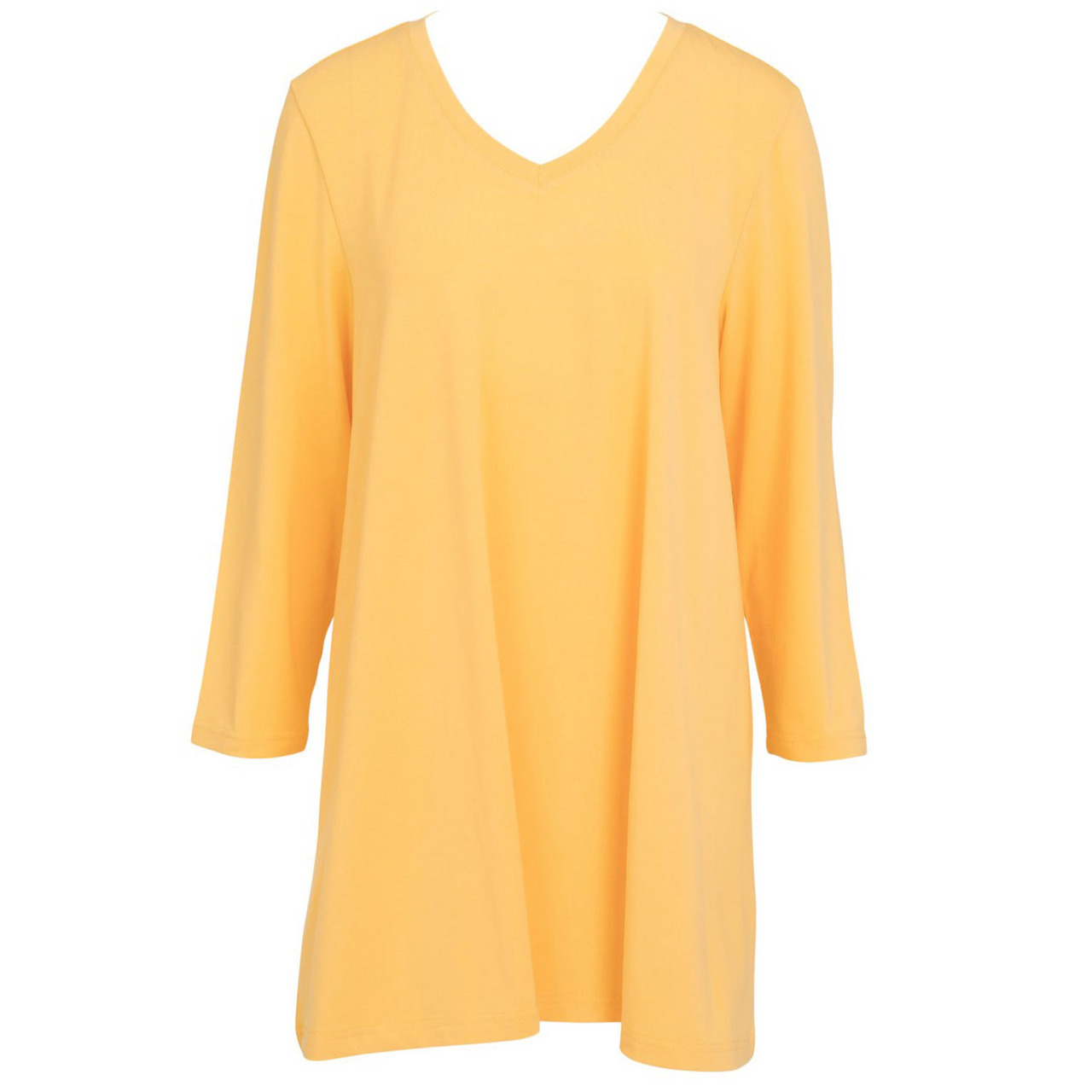 Essential V-Neck Tunic - Mimosa LG/XL
