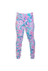 Go2 Legging - Tropical Swirls XL