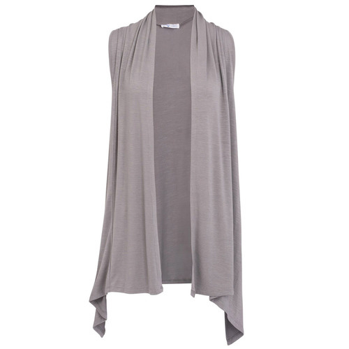 Flirty Vest - Charcoal Grey