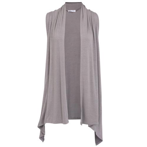 Extra Flirty Vest  - Charcoal Grey