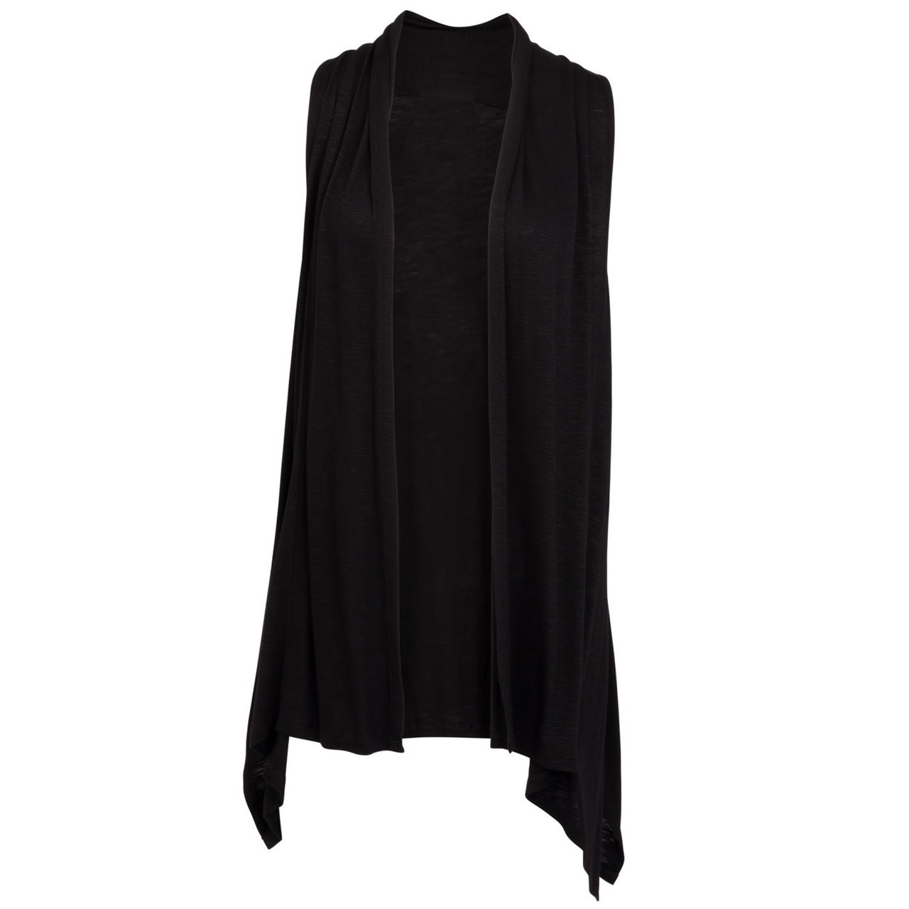 Extra Flirty Vest - Black