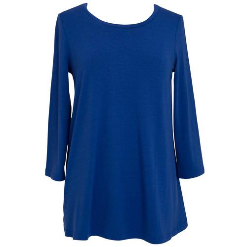 Essential Tunic - Monaco Blue - LG/XL