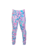 Go 2 Legging - Tropical Swirls SM