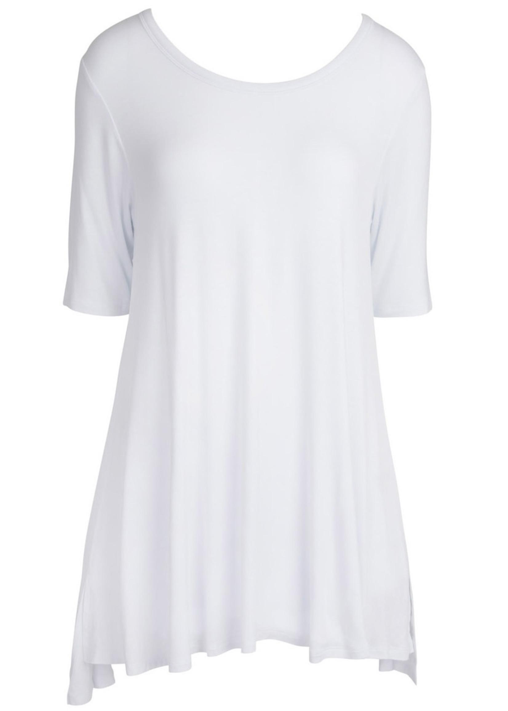 Swing Tunic - White LG/XL