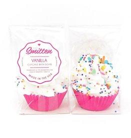 Feeling Smitten Mini Vanilla Cupcake Bath Bomb