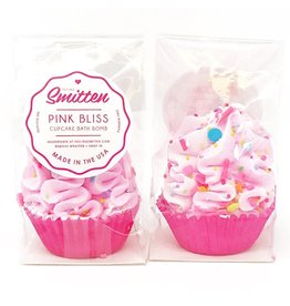 Feeling Smitten Mini Pink Bliss Cupcake Bath Bomb